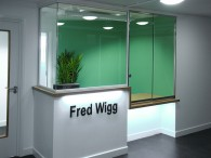 Fred Wigg reception area